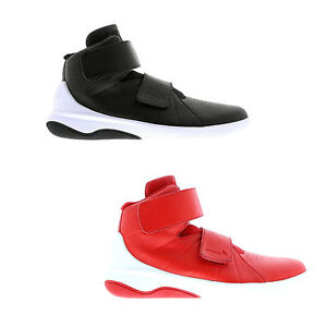 Original-Homme-Garcons-Nike-Marxman-Hi-Top-Noir-Rouge-Blanc-Baskets-Baskets-Chaussures