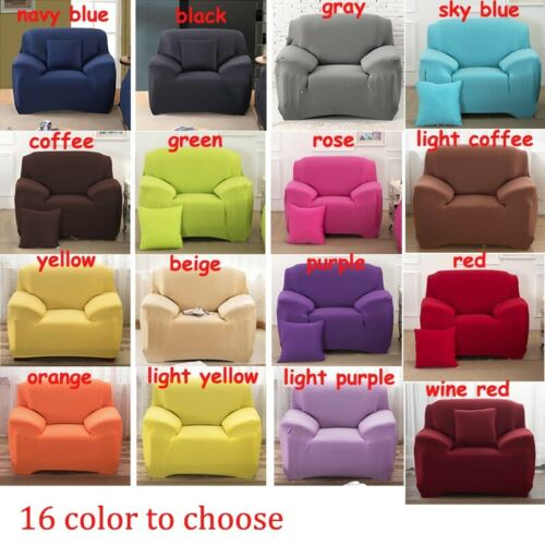 Sofa Couch Covers Furniture protector Slipcovers Stretch Elastic 1//2//3//4 Seater
