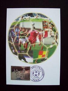2010_carte Maximum_fdc_le Football En Argent-timbre 5 € Argent.