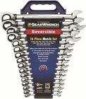 GearWrench Metric Reversible Combination Ratcheting Wrench Set (9602N)