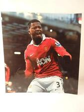 **Genuine Hand Signed Patrice Evra Manchester United Photo**