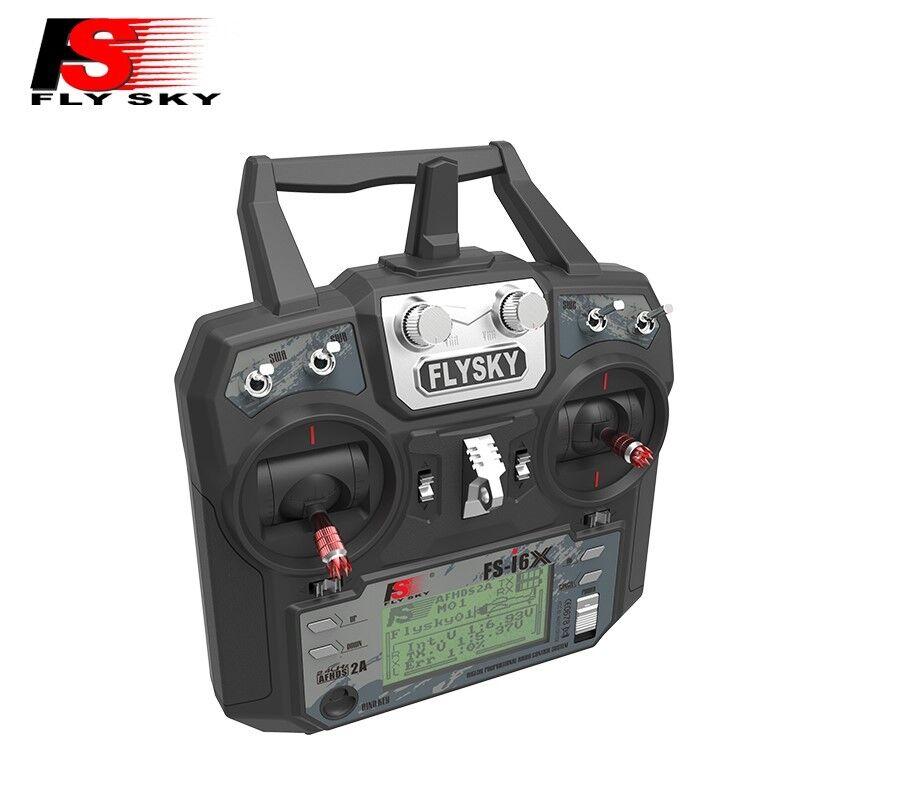 Flysky FS-i6X 2.4GHz 10CH RC Transmisor receptor A8S Con Control Remoto Tx Rx
