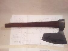 ? 2,7 Lbs EXTR RARE HEWING GOOSEWING BEARDED BROAD AXE - VIKING STYLE