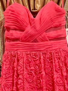NWT Pink Formal Pageant Prom Dress Jr 7/8 $200 Hailey Logan Adrianna ...