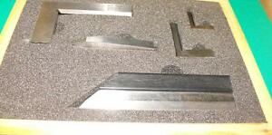 Precision-Bevel-Edge-Square-and-tool-set-Grade-00-Stainless-steel