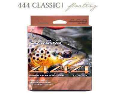 Cortland 444 Classic DT Floating  30yds/27m Peach Fly Line  (Free Trout Flies)