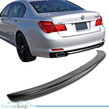 Carbon Fiber BMW F01 F02 Sedan D Style Rear Trunk Spoiler Wing 09-14 ●
