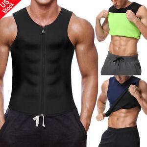 790d050900 Unisex Neoprene Sauna Vest Sweat Shirt Redu Fat Body Shaper for GYM ...