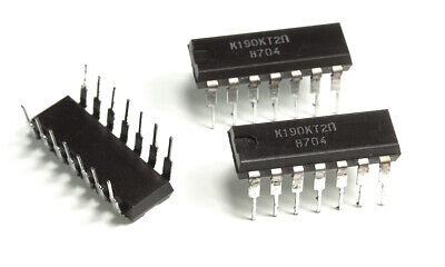 4 FET insulated gate K190KT2P К190КТ2П 1 pcs Quad switch 2x2