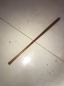 Image Is Loading Vintage Helirich Amp Bradsby Co Cork Ball Bat