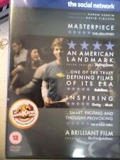 Jesse Eisenberg Justin Timberlake SOCIAL NETWORK ~ Facebook Drama | UK DVD