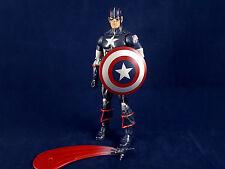 """Marvel Legends Secret War Captain America Abomination BAF Series 6"""" Loose SHIELD"""