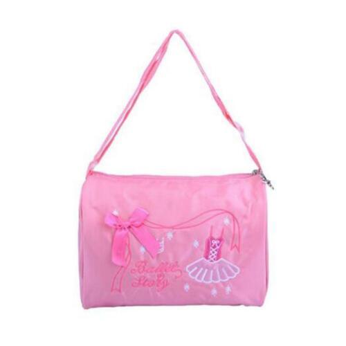 Child Kids Girls Latin Ballet Dance Bag Handbag Luggage Shoulder Tote Bags T