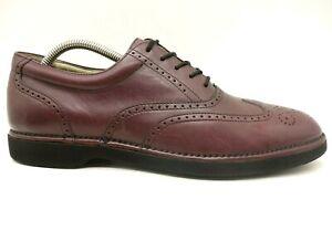 Rockport Dressports Burgundy Leather
