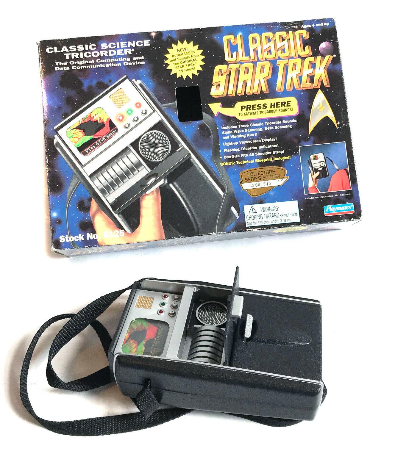 promociones emocionantes Vintage años 90 Estrella Estrella Estrella Trek científico tricorder por Jugarmates Luz Sonido Juguete De  marca