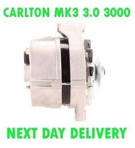 VAUXHALL-CARLTON-MK3-3-0-3000-BERLINA-1987-1988-1989-1990-NEW-ALTERNATOR