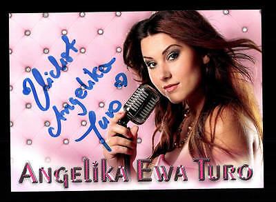 Angelika Ewa Duro Autogrammkarte Original Signiert ## Bc 106393 Warmes Lob Von Kunden Zu Gewinnen Autogramme & Autographen Musik