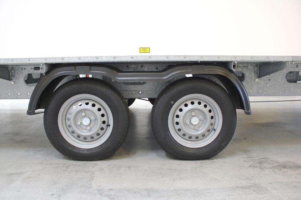 Trailer Scanvogn 730-6P - Skurvogn, lastevne (kg):