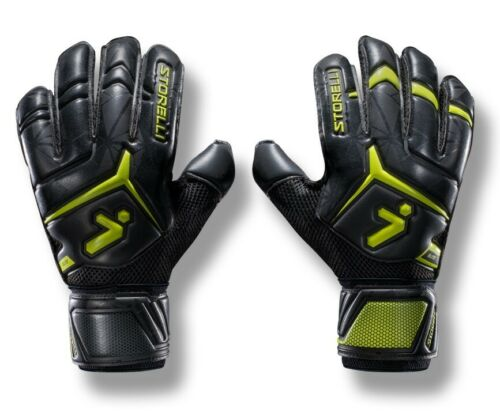 Black//Yellow Storelli Gladiator 2.0 Elite with Spine Glove