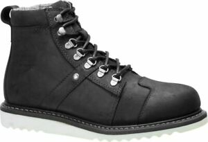 Harley Davidson Hickman Riding Sneakers in Black Leather