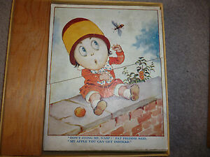 Collectible-Vintage-children-039-s-jigsaw-puzzles-set-of-5-puzzles-I-think-1915-30