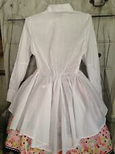 Short Front Long Back Tapered  gothic lolita kawaii aristocrat ouji Blouse