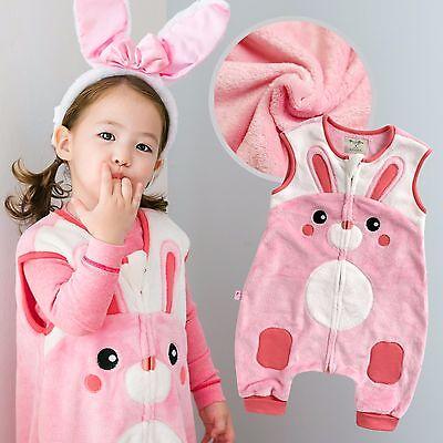 "Vaenait Baby Kids Boys Girls Warm Soft Blanket Sleepsack /""Mf.Zoozoo Koa/"" 1T-7T"