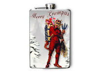 Merry Krampus 8oz Flask Fn527