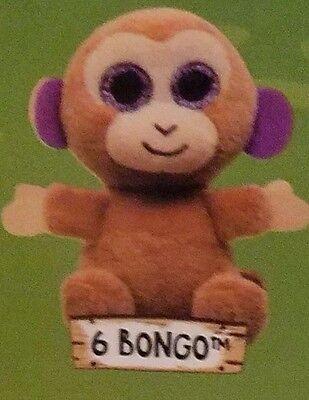 Bongo the Monkey Mcdonalds Happy Meal Ty Teenie Beanies Ty Beanie Babies