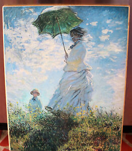 Details About Woman With Parasol Claude Monet Madam Monet And Her Son Print Nat Gallery Of Art
