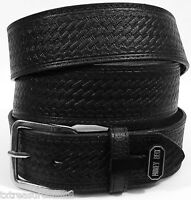Nocona Belts Men's Western Casual Accessories Black Leather Money Belt 40
