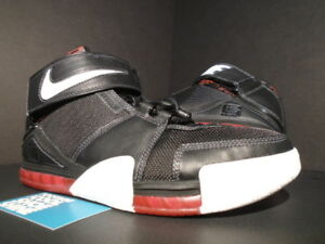 info for 84f91 70c72 Image is loading 2004-NIKE-ZOOM-LEBRON-II-2-BLACK-WHITE-