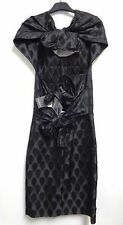 NWT $4,789 Runway YSL Yves Saint Laurent Fall Collection Black Dress Size 36