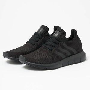 c94bcab21929f Adidas AQ0863 Men ORIGINALS Swift Run Running shoes black sneakers ...
