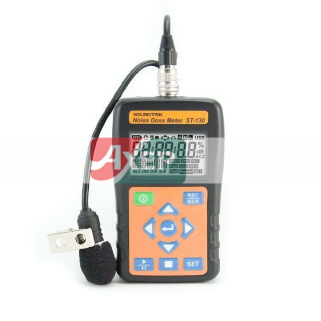 A● TENMARS ST-130 Sound Level Meter Noise Dose Meter  USB Data logger