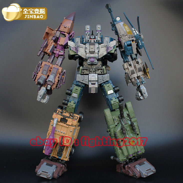 Perfect Jinbao Bruticus Decepticons K.O. Oversized Warbotron Toy 55CM Big Figure