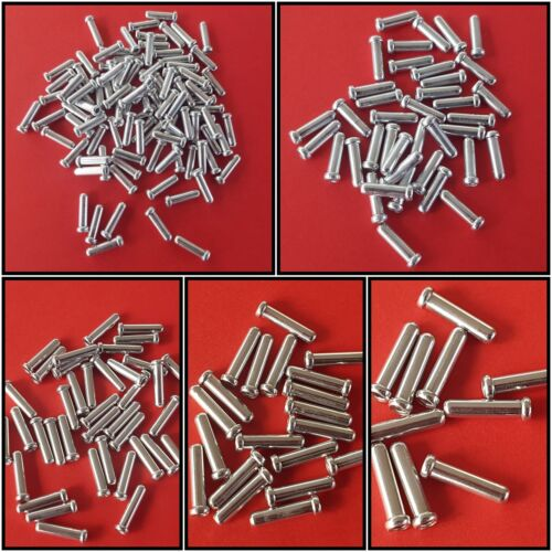 extrémités Shimano bremszug triphasé endhülsen bremszug 1,6mm NEUF