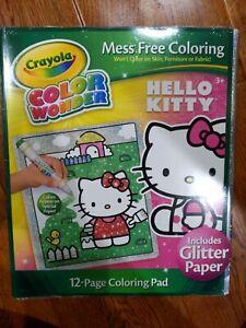 Crayola Color Wonder Mess Free Coloring - Hello Kitty. 12 ...