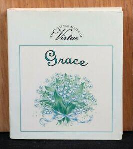 VG-Grace-Little-Book-of-Virtue-Miniature-Gift-Book-1995-HC-DJ