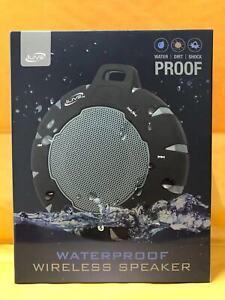 iLive ISBW157 Portable Bluetooth Speaker Black/Gray New