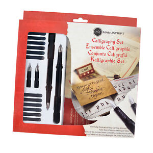 Manuscript-Left-Handed-Masterclass-Calligraphy-Ink-Gift-Set-Guide-Book-MC146L