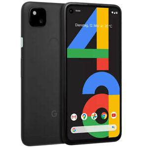 Google Pixel 4a 128GB Smartphone *Neu* vom Händler OHNE SIMLOCK - Just Black