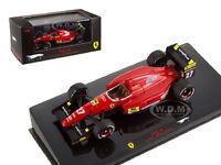 Ferrari F92 A 27 J.alesi Spain Gp 1992 Elite 1/43 Model Car By Hotwheels T6281