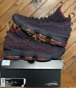 quality design 57fa1 28b45 Details about Nike LeBron 15 XV New Heights Dark Atomic Teal Red 897648-300  Men's Size 13