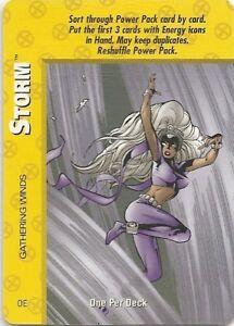 OVERPOWER Storm SET 4 hero IQ 9 sp Gathering Winds MegaPower 1 bonus