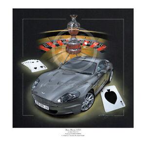 james bond 007 aston martin dbs v12 casino royale tribute limited