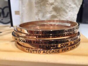 Bracciale-rigido-in-acciaio-anallergico-con-frase-colore-oro-rosa
