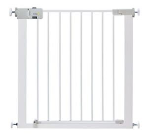 Safety 1st Secure Tech Simply Close Metal Gate White Ebay