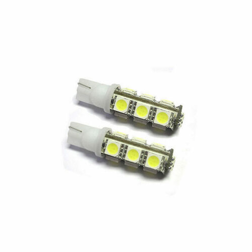2x LED 501 T10 White 13x 1210 SMD To Fit Side Light Chevrolet ...