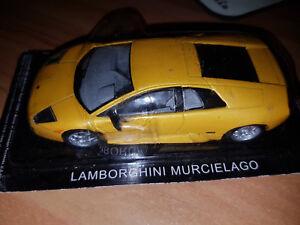 Lamborghini-Mucielago-Gialla-Die-Cast-1-43-Scala-1-43-DeAgostini-Nuova